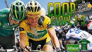 Tour de France 2015   Coop Europcar Facecam   Etape 1 à 3