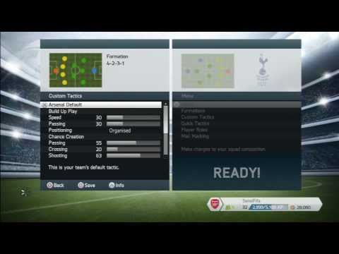 FIFA 14: Guide to Custom Tactics