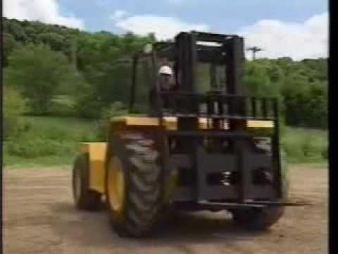 Rough Terrain Forklift Training