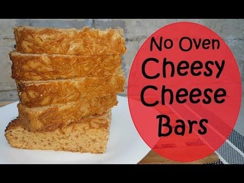 Cheesy Cheese Bars | Cheese bars | No Oven recipe