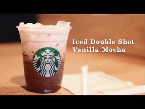 Barista Favorites - Iced Double Shot Vanilla Mocha