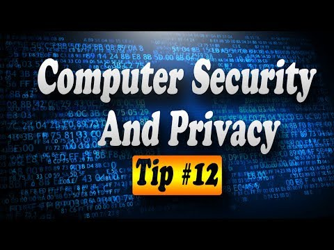 Tip #12 Increase Computer Security, Online Safety, & Privacy (Hard Drive Disposal)