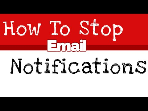 how to stop email notification from Facebook- Easy way must watch