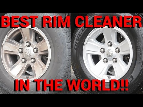 BEST RIM CLEANER IN THE WORLD! --And FREE