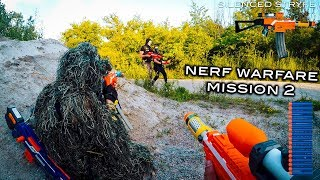 Nerf meets Call of Duty: Campaign   Mission 2.0 (Nerf Warfare First Person Shooter)