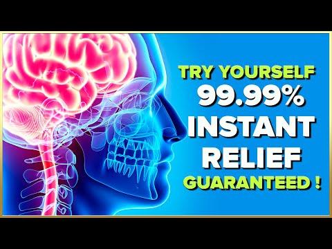 POWERFUL Migraine Headache Relief - REALLY WORKS | Stress Relief Binaural Beats