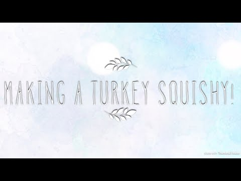 TURKEY SQUISHY!!|| Thank You So Much For 200 Subs!!
