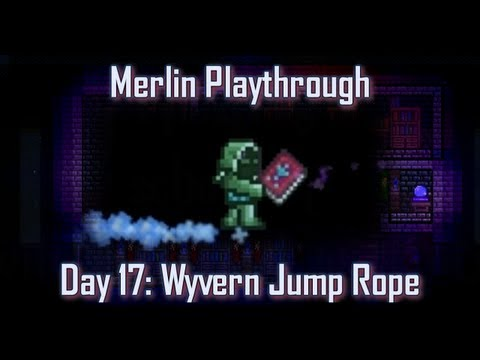 Terraria - Caster playthrough: Day 17