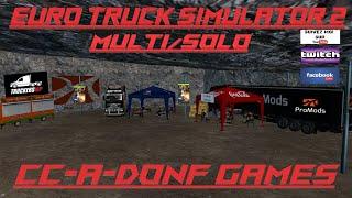 🚛Euro Truck Simulator 2🚚🔴#Live #Multi #Fr #Promods 2.45 ROUTE DE LA MORT ça va piquer 😂😂ou pas