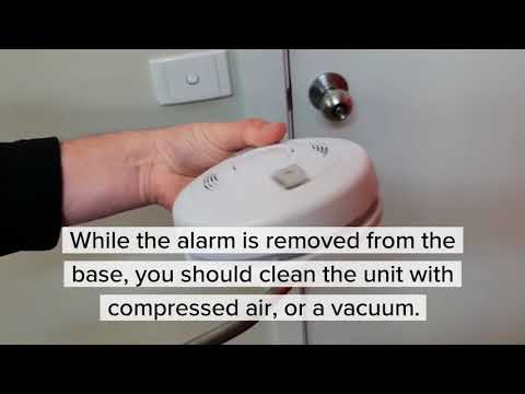 How to Replace a MATelec Smoke Alarm Battery