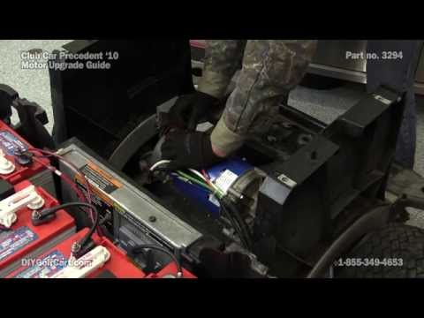 Club Car Precedent High Speed Motor Upgrade | How to Install on Golf Cart