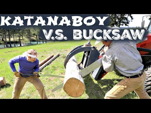 Survival Saw Shootout- Katanaboy V.s. Bucksaw
