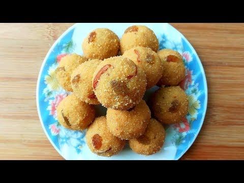 सूजी बेसन के लड्डू की रेसिपी   Rava Besan Laddu   Ganesh Chaturthi Special Recipes