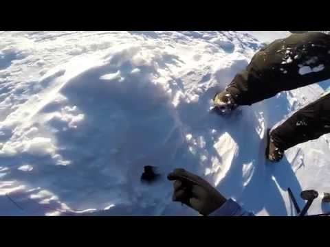 Ice Fishing: Catching a Tiger Trout