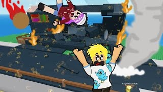 Surviving 6 Disasters at Once in Roblox! / Natural Disaster Survival / Gamer Chad Plays
