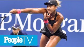 Us Open Champ Naomi Osaka Couldnt Tell If Crowd Was Booing At Her  Peopletv