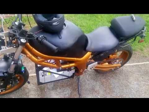 Electric Motorcycle Conversion - SV650: Quick Notes