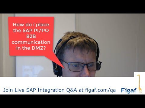 How to secure B2B communication for SAP PI/PO in the DMZ?