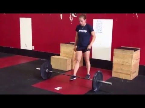 Power Clean w/ pause in catch + Front Squat