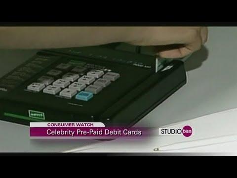 studio10: consumer watch prepaid celebrity debit or credit cards