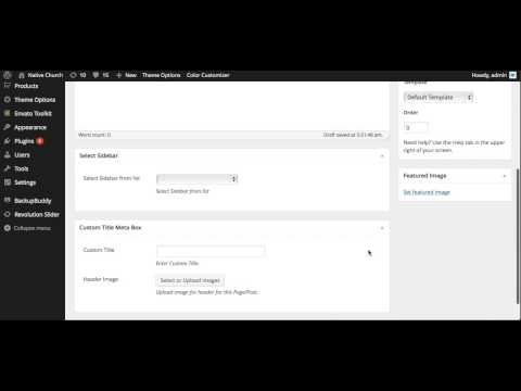 getting the page/post id in Wordpress Dashboard