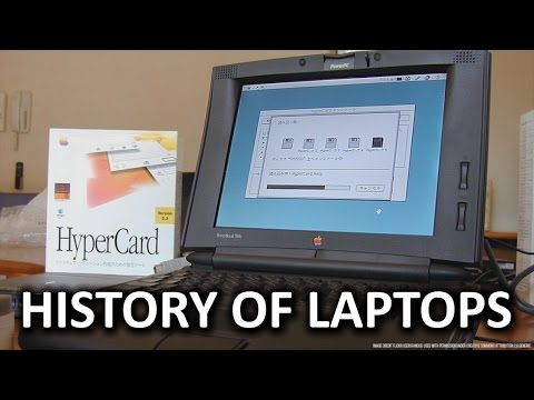 History of the Laptop