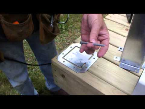Vinyl Deck Rail System