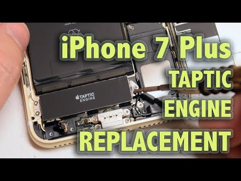 iPhone 7 Plus Taptic Engine Replacement