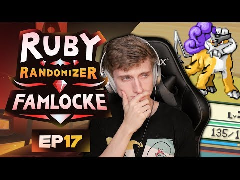 MAXIE SHOWDOWN! | Pokemon Ruby Randomizer Famlocke EP 17