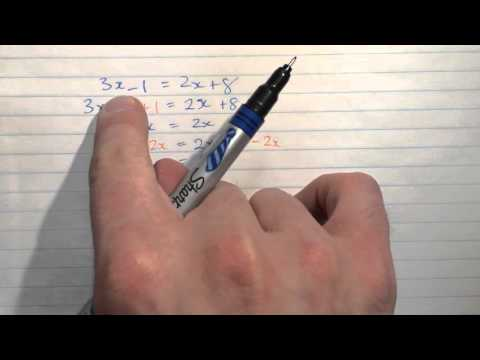 Solving equations with addition and subtraction