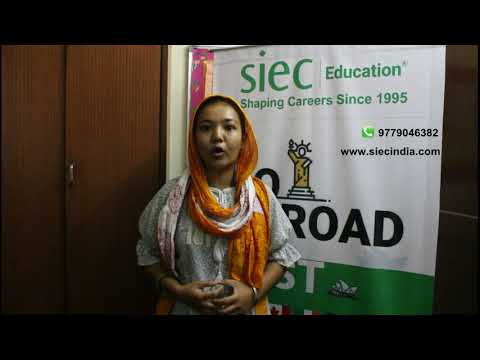 Student sharing her experience after getting Study Visa   Study Abroad