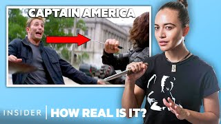Kali Knife Expert Rates 11 Kali \u0026 Knife Fights In Movies And TV | How Real Is It?