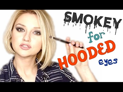 Smokey Makeup for Hooded Eyes