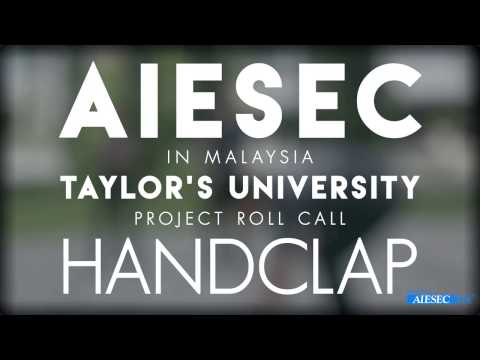 AIESEC in Malaysia 2016 Roll Call - HandClap
