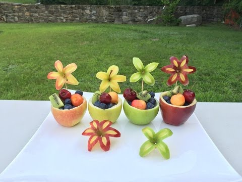 How to make apple fruit cups-easy to make