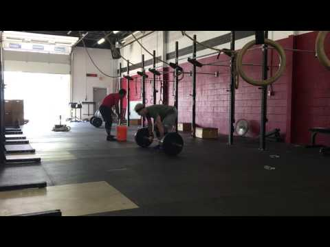 5 Rounds - Clean to thruster + C2B