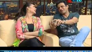 Esha Gupta & Manoj Bajpai With Komal Nahta
