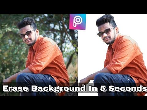 Erase Background in 5 Seconds in Picsart