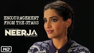 Making Of Neerja #1 : Encouragement from the Stars | Sonam Kapoor | Shabana Azmi