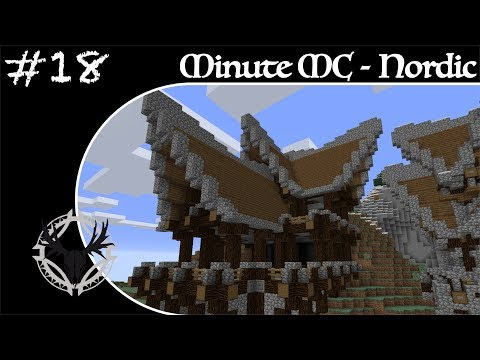 Minute Minecraft - Time Lapse - Nordic Village - Ep.18