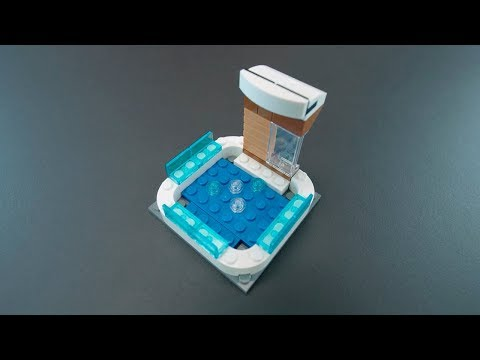 How to Build a Hot Tub - LEGO Creator 3in1 - Building Tips