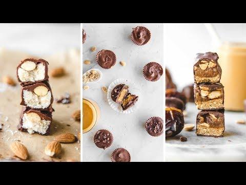 Homemade Candy Bar Recipes (Vegan + Healthy) 🍫