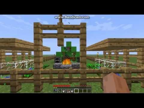 Minecraft Building Tutorial [Episode 3] - A Campsite