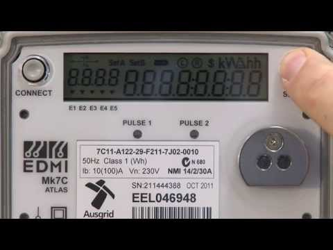 How to read my electronic meter