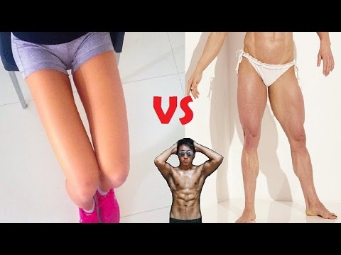 Do Squats Make Your Legs Bigger OR Smaller?