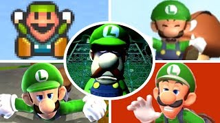Evolution of Luigi Deaths and Game Over Screens (1983-2017)