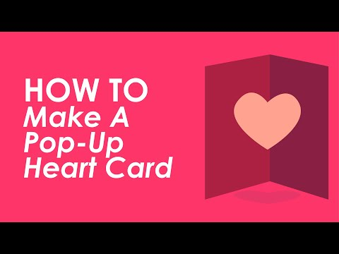 How To Make A Pop Up Heart Card