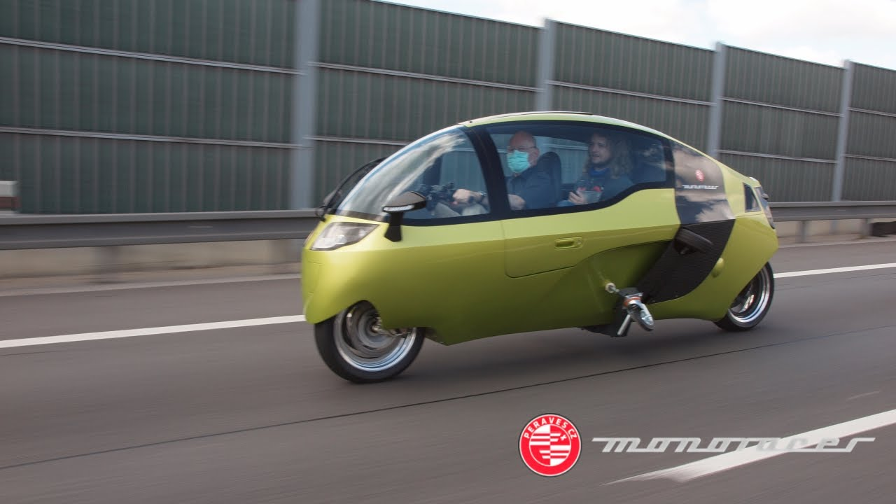 New Monoracer (electric version) first test drive [2020]