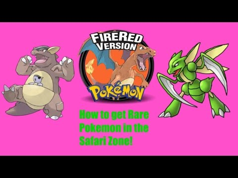 Pokemon Firered/Leafgreen How to catch Sycther, Chansey,Tauros,Kangaskhan, and Dratini!