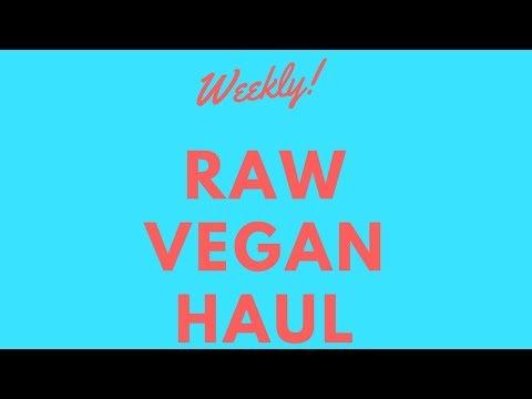 My weekly Raw Vegan haul